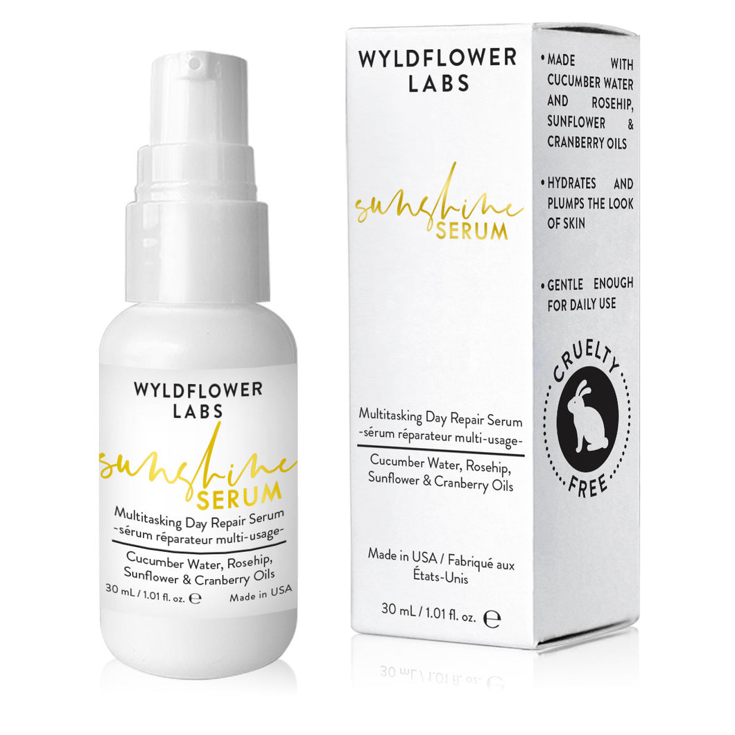 Sunshine Serum - multitasking day repair serum - Nourish Beauty Box