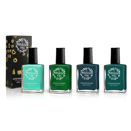 Nourish Nails Set - The Evergreen Soul - Nourish Beauty Box