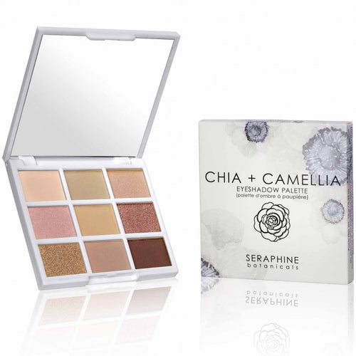 Chia + Camellia Eyeshadow Palette - Nourish Beauty Box