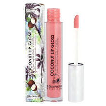 Load image into Gallery viewer, Coconut Lip Gloss - Highly Hydrating lip Gloss - Nourish Beauty Box