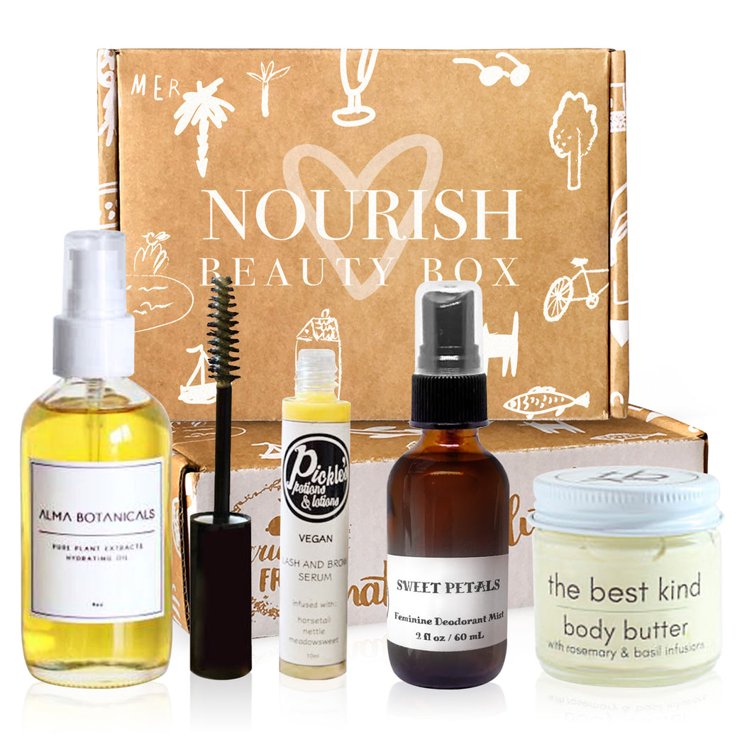 Rebirth Curation - Nourish Beauty Box
