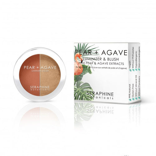 Pear + Agave - Luminizer & Blush - Nourish Beauty Box