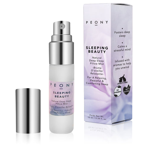 Sleeping Beauty - Natural Deep Sleep Pillow Mist - Nourish Beauty Box