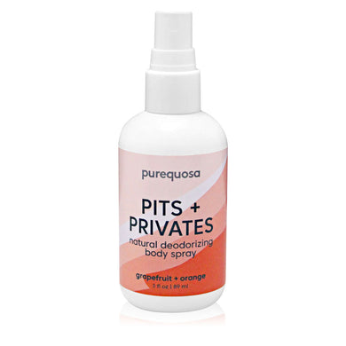 Pits + Privates - Natural Deodorizing Body Spray - Nourish Beauty Box