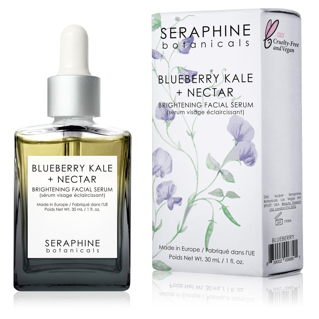 Blueberry Kale + Nectar - Brightening Facial Serum - Nourish Beauty Box