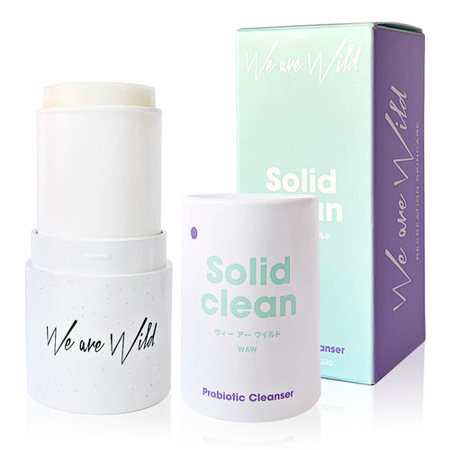 Solid Clean Probiotic Cleanser - Nourish Beauty Box