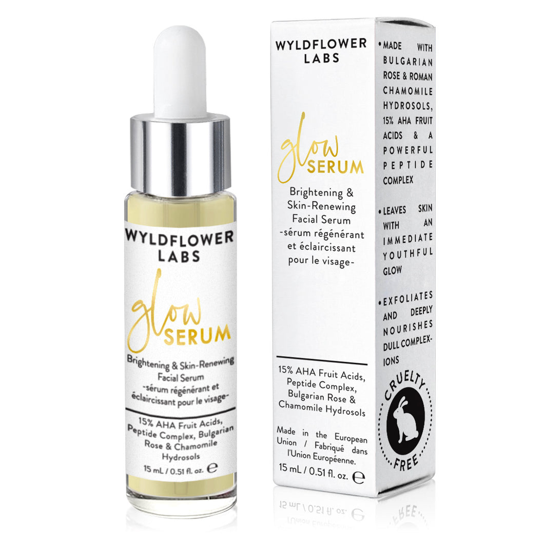 Glow Serum - brightening & skin-renewing facial serum - Nourish Beauty Box