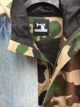 Bull denim camouflage jacket