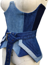 SHADES DENIM CORSET