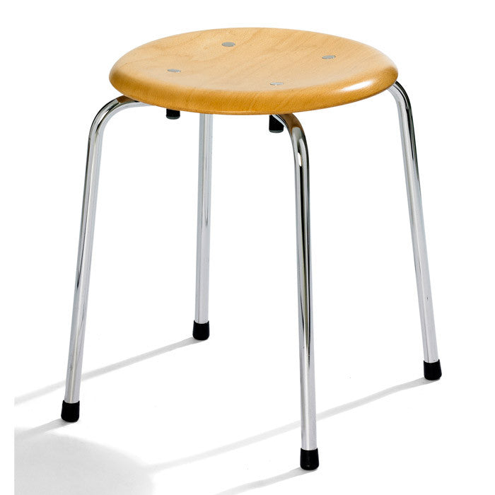 Please wait to be seated - Taburet - S38 S/1 Stool, stabelbar, Bøg