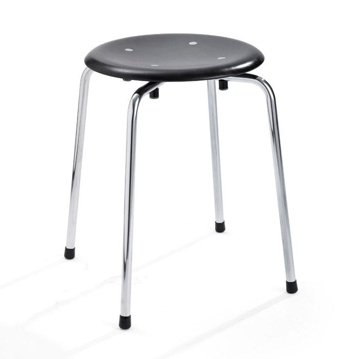 Please wait to be seated - Taburet - S38 S/1 Stool, stabelbar, Sort