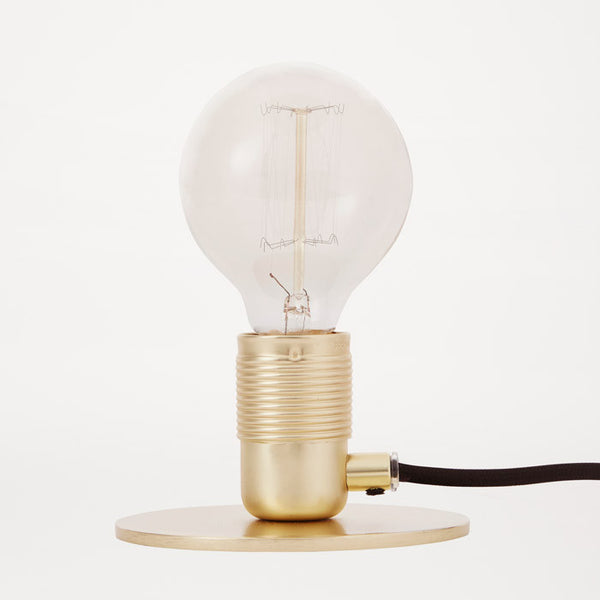 Frama - Bordlampe - E27 i messing, Ø 12 cm