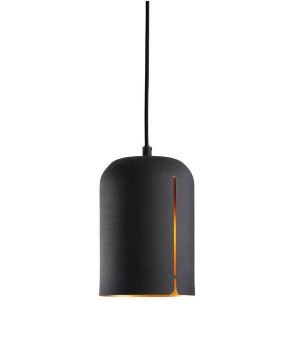 Woud - Short Gap Pendant - Loftslampe - Sort