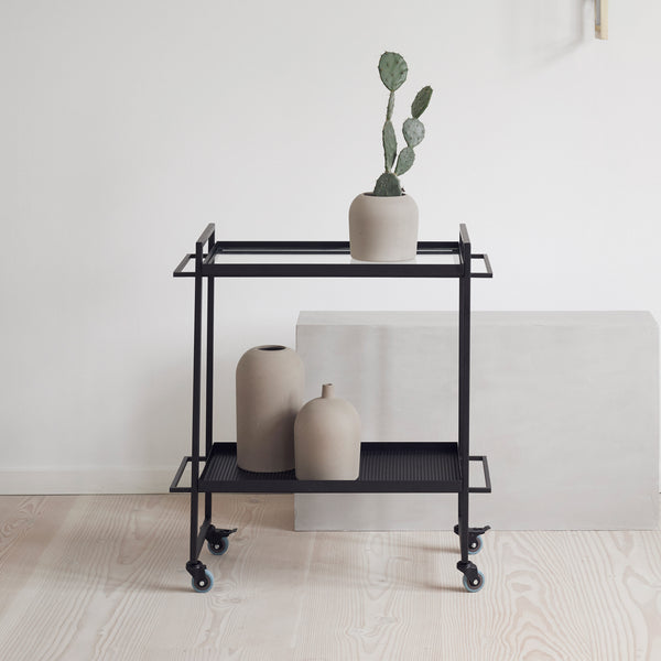 Kristina Dam Studio - Bauhaus Trolley - Sort