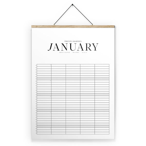 Kbhavn - Kalender - The Family Calendar, Eg