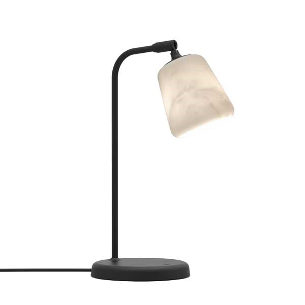 New Works - Bordlampe - Material - The Black Sheep Marmor