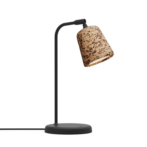 New Works - Bordlampe - Material - Blandet Cork