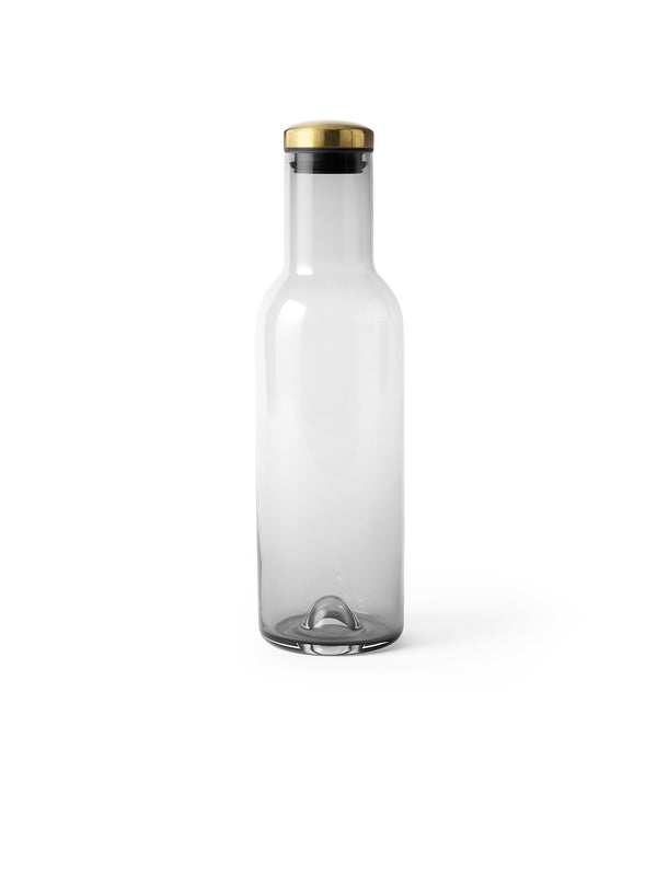 Menu - Karaffel - Bottle karaffel Smoke 1L, messing låg