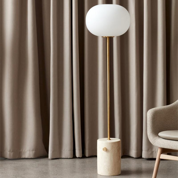Menu JWDA Gulvlampe Travertine Brushed Brass