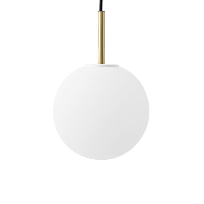 Menu - TR Bulb Messing Matt Opal Pendant