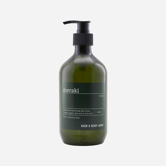 Meraki - Hair & Body Wash - Men - 490 ml