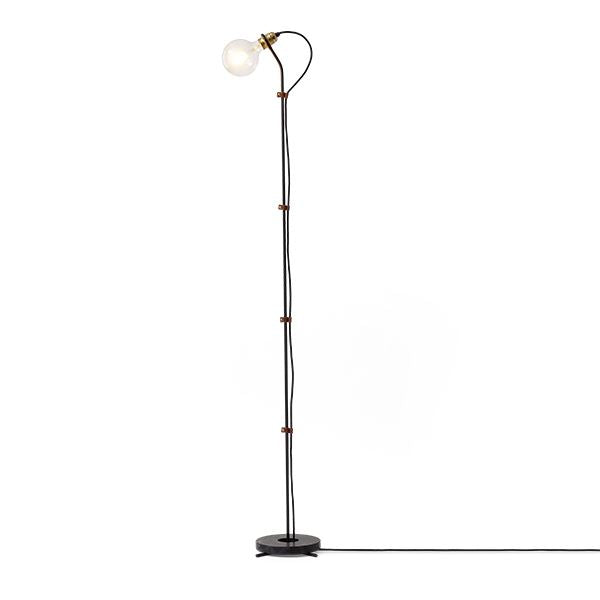 New Works - Gulv lampe - Five floor lamp, Sort