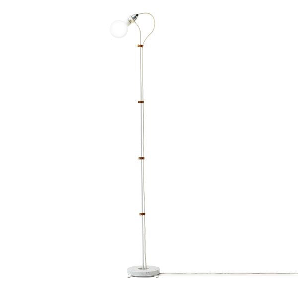 New Works - Gulv lampe - Five floor lamp, Hvid