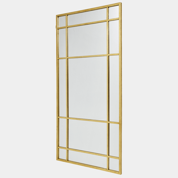 Nordal Spejl - spirit iron wall mirror gold