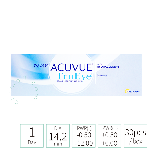 Acuvue 1-day TruEye (TRANSPARENT 透明)