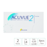 Acuvue 2 weeks (TRANSPARENT 透明)