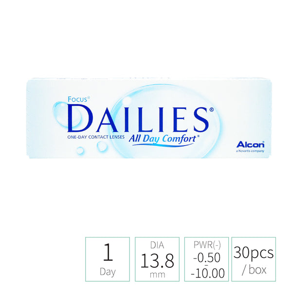 Alcon Dailies Focus DAILIES All Day Comfort™  (TRANSPARENT 透明)