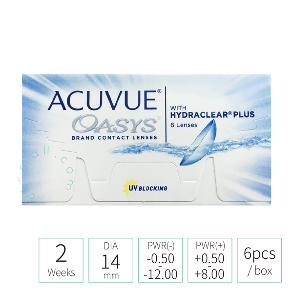 2-week Acuvue Oasys (TRANSPARENT 透明)