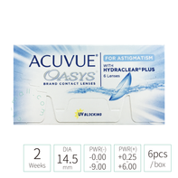 2-week Acuvue Oasys with HYDRACLEAR Plus for Astigmatism 散光