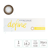 Acuvue 1day Define RADIANT BRIGHT 閃鑽啡