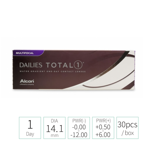 Alcon Dailies TOTAL1 MULTIFOCAL 漸進 (TRANSPARENT 透明)