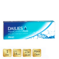 Dailies AquaComfort Plus (TRANSPARENT 透明) (近視/遠視)