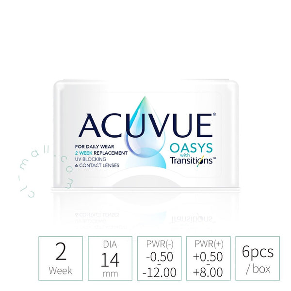 Acuvue 2Week Oasys with Transitions 全視線
