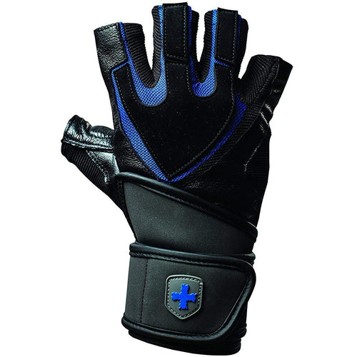 Harbinger - Men's Training Grip WristWrap Glove - Performance Zone Sports