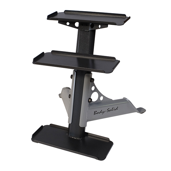 Body-Solid 3-Tier Kettlebell Rack - Performance Zone Sports