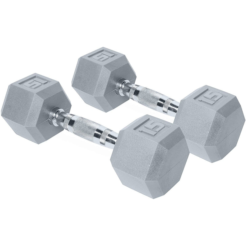 CAP Barbell Color-Coated Hex Dumbbell