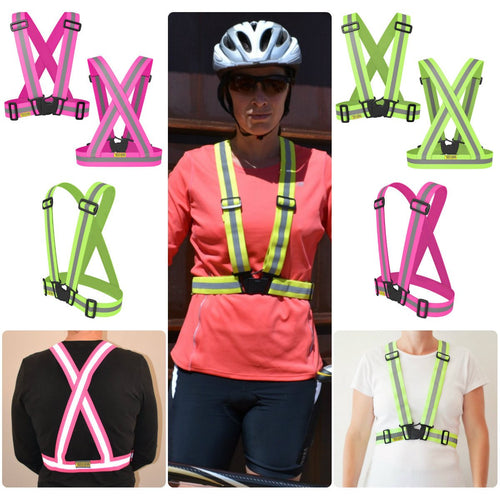Tuvizo Reflective Vest - Performance Zone Sports