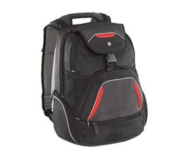 "Targus 16"" Repel SportBackpack Fits up to 16"" NB Blk/Red/Grey"