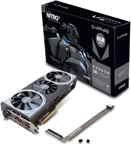 Sapphire AMD NITRO+ RX VEGA 56 8GB Gaming Video Card Limited Edition - HBM2 2HDMI/2DP 1305/1572MHz VAPOX-X Cooler