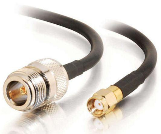 Astrotek 3m WiFi RP SMA Male to RP SMA Female Extension Cable