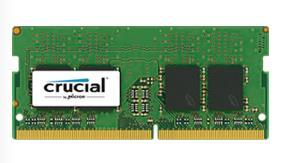 Crucial 8GB (1x8GB) DDR4 2400MHz SODIMM CL17 Single Ranked