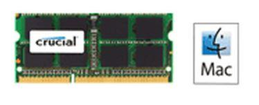 Crucial 4GB (1x4GB) DDR3 1333 for MAC SODIMM 1.35V