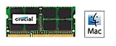 Crucial 8GB (1x8GB) DDR3 1333 for MAC SODIMM 1.35V