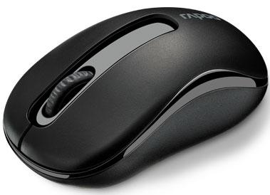 RAPOO M10 2.4GHz Wireless Optical Mouse Black - 1000dpi,3Keys