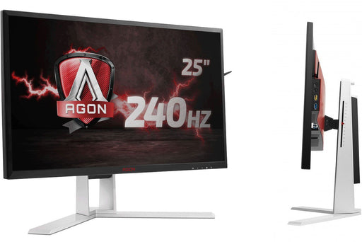 "AOC AGON 24.5"" 1ms 240Hz Full HD FreeSync Gaming Monitor w/HAS - VGA/DVI/HDMI2.0/DP,Hub/Charge,Speaker,Height Adjust"