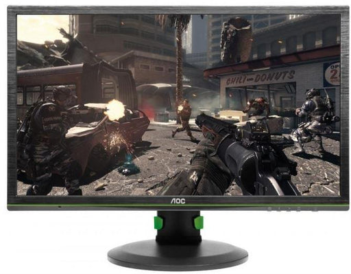 "AOC AGON 24"" 1ms 144hz Full HD G-SYNC Gaming Monitor w/HAS - DP,VESA100mm,Speaker,Height Adjust"